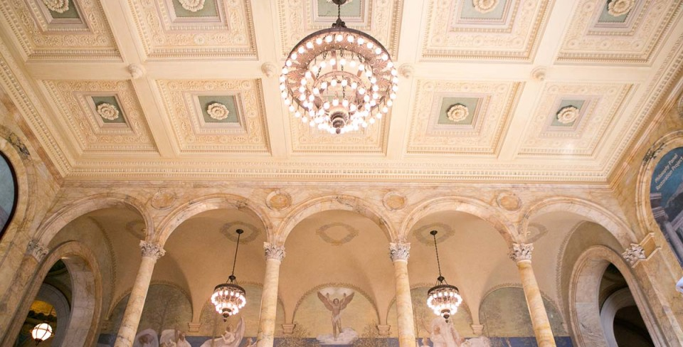 Rehearsal Dinner Inspiration: Boston Public Library