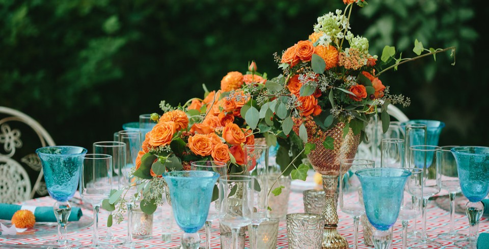 Behind the Scenes with the Designer: Garden Party at Adolphus Busch Hall featured in Southern New England Weddings
