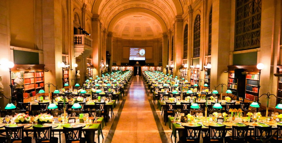 The Catered Affair at the Boston Public Library Offers a Fresh Take on the Corporate Meeting