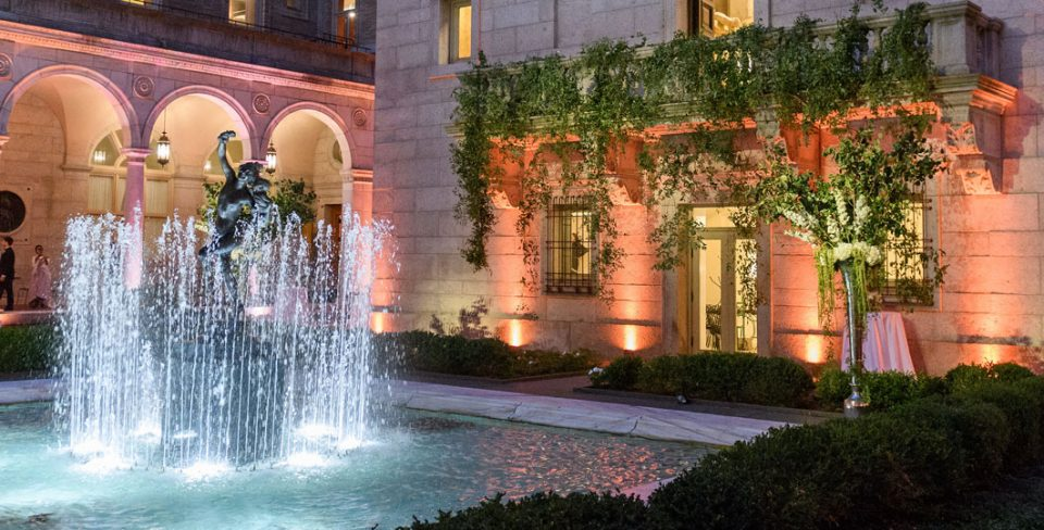 Spend the Evening in Boston Public Library's Courtyard