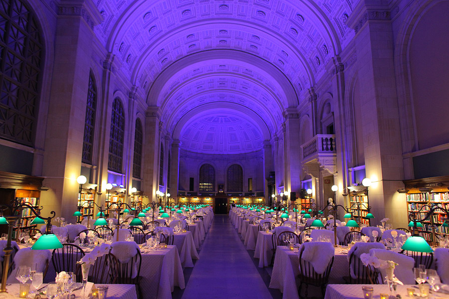 Boston Public Library Wedding.View From The Venue Boston Public Library The Catered Affair