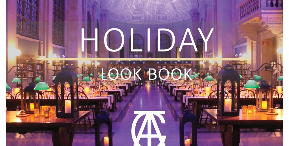 Holiday Party at the Boston Public Library Lookbook