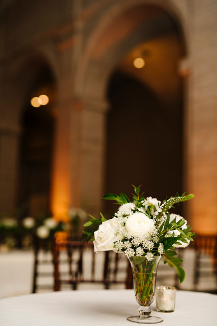 Small Flower Arrangements Centerpieces at Ceremony