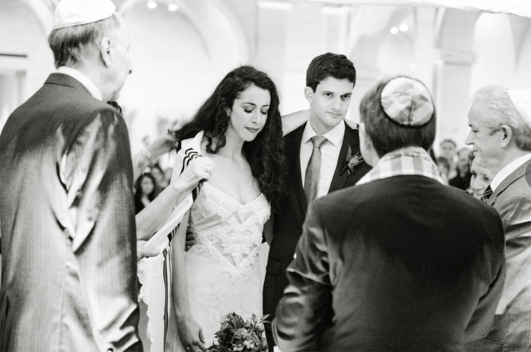 Bride and Groom Jewish Ceremony