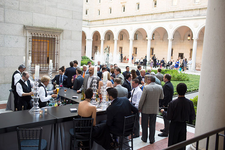 Al Fresco Events in the Courtyard